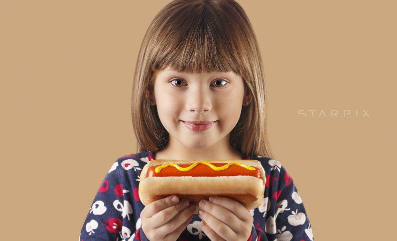Fotografia de modelos e alimentos para Copacol